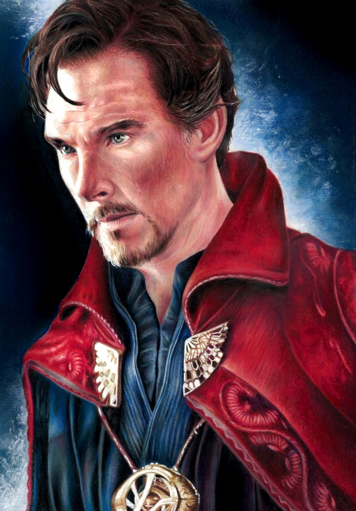 Benedict Cumberbatch by Cymbidium